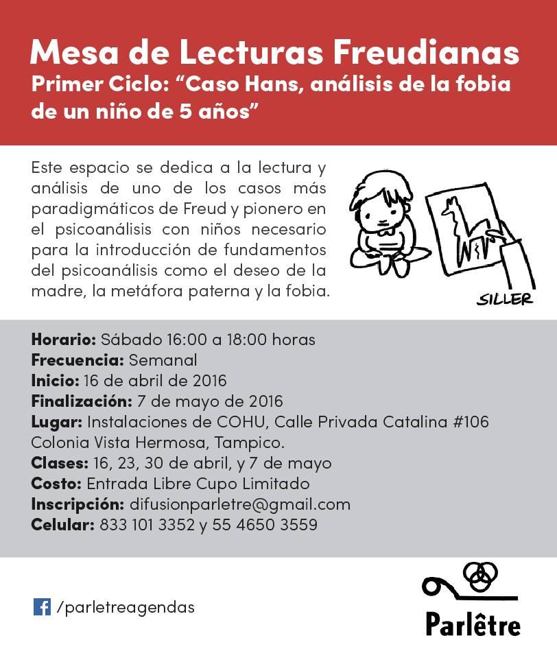 Mesa de Lecturas Freudianas.